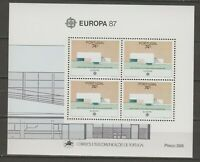 s36510 PORTUGAL EUROPA CEPT MNH** 1987 S/S