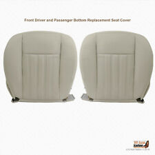 2004 Lincoln Aviator Driver & Passenger Bottom Synthetic Leather Seat Cover Tan (Fits: Lincoln Aviator)