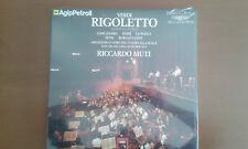 Cofanetto vinili dell'Opera RIgoletto di Verdi diretto da Ricardo Muti