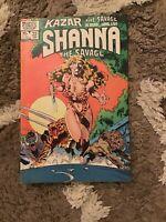 Kazar Shanna The Savage #22 Jan 1982 Marvel