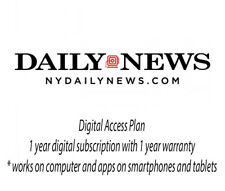 New York Daily News NYDN 1 Year Digital Subscription Plan