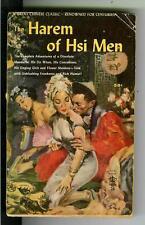 HAREM OF HSI MEN, Royal Ginat #26 sleaze Asian gga thick digest pulp vintage pb