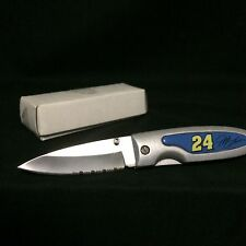 "NASCAR Jeff Gordon Logo 6-3/8"" folding Knife - New In Box"