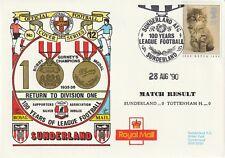 28 AUGUST 1990 SUNDERLAND v TOTTENHAM HOTSPUR DIVISION 1 DAWN FOOTBALL COVER