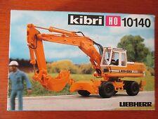 KIBRI maquette tracto-pelle en boite  éch HO réf 10140