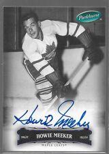 06/07 Parkhurst Auto Howie Meeker 74 Leafs