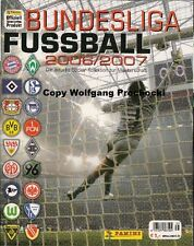 Fussball 2006/2007 leer + 100 verschiedene Sticker der Serie  rar... Panini