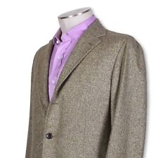 NWT Belvest Brown Wool Cashmere Three Button Dual Vent Sportcoat NICE 40 40r