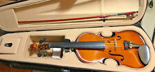 NEW PALATINO HAND CARVED ALLEGRO VIOLIN OUTFIT WITH CASE & BOW, 1/8 SIZE
