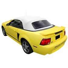 Ford mustang Convertible Soft top With Plastic window WHITE Sailcloth 1994-2004