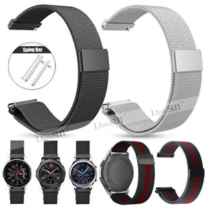 For Samsung Galaxy Watch SM-R810 Milanese Magnetic Loop Watch Band Strap 42/46mm