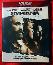 Syriana - George Clooney / Matt Damon / Jeffrey Wright - HD DVD - 2006