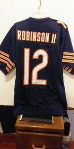 Chicago Bear Allen Robinson Autographed Blue Jersey