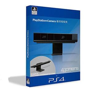 Vertical Stand Eye Camera Mount Holder Adjustable TV Clip Black for PS4 for Sony