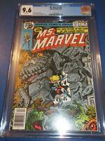 Ms. Marvel #21 Bronze age Captain Marvel CGC 9.6 NM+ Gorgeous gem wow