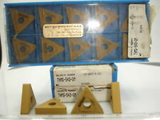 TNMG 543 GM SV325 VALENITE CARBIDE INSERTS (10) 1437