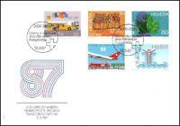 FDC Suisse - Timbres poste spéciaux 10.3.1987