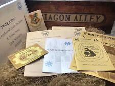 Ultimate Harry Potter Hogwarts Acceptance Letter - Personalised Gift - Mega Pack