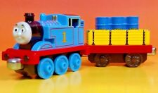 Thomas Tank Engine + Cargo Tender Car -Thomas Metal Diecast Take Along Train Lot