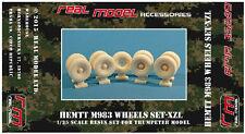 M983 HEMTT wheels set 1/35 Real Model resin RMA35289 Trumpeter
