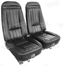 1970-1971 Corvette 100% ALL Leather Seat Covers 4191__