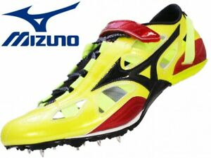 Mizuno Track Field Spike INX SPRINT NR5 U1GR190309 Limited color Yellow × Black