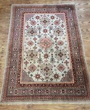 Vintage East Turkestan Hand Woven Carpet