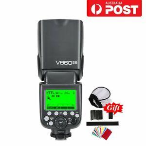 Godox V860II-N 2.4G TTL HSS Li-ion Battery Camera Flash Speedlite For Nikon