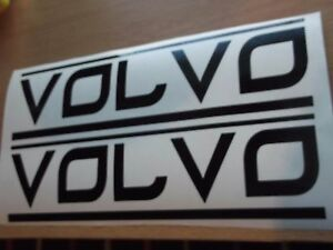 VOLVO panel skirt car 7 YEAR vinyl sticker decal x2