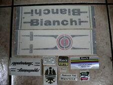 Bianchi bici Bike 11 Vinyl Decals Stickers Frame Replacement Set vintage adesivi
