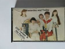 Cliff Ledger & his Family - Yesterday and Today cassette / Tape