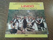 33 tours lindo homo u kolo ensemble of folk and songs of the peoples of yugoslav
