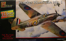 WWII BRITISH HAWKER HURRICANE 1:48 SCALE PEGASUS E-Z SNAP PLASTIC MODEL KIT