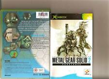 METAL GEAR SOLID 2 SUBSTANCE XBOX / X BOX MGS