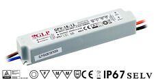 GPV-18-12 18 Watt - 12 Volt LED Trafo Treiber Netzteil IP67 Wasserfest
