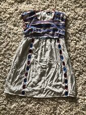 THML Anthropology Dress Sz M Embroidering.