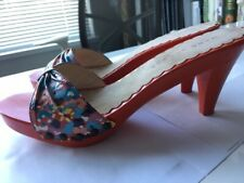 Marc Jacobs Wood Sandals, AUTHENTIC, LIKE NEW