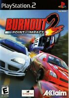 Burnout 2: Point of Impact - Playstation 2 Game Complete