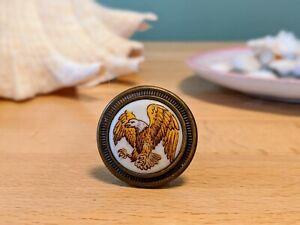Vintage Bald Eagle Cabinet Knobs - 14 available