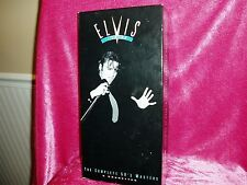 """""""ELVIS KING OF ROCK 'N' ROLL, THE COMPLETE 50'S MASTERS CASSETTES"""", book & stamp"""