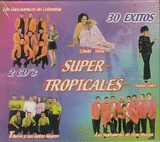 Los Guacharacos de Colombia Linda Vera Sonia Lopez Super Tropicales 2CD New