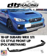 CS-Style Front Lip (Urethane) Fits 18-Up Subaru WRX STi JDM