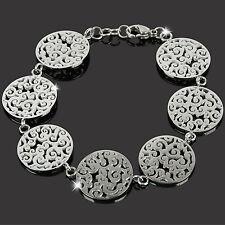 GOOIX Armband Armkette Edelstahl Silber ORIENTAL Damen Schmuck Armschmuck NEU