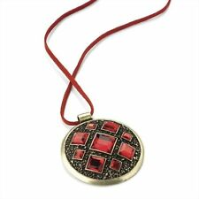 Glass Mixed Themes Costume Necklaces & Pendants