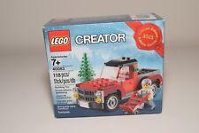 LEGO 40083 TREE TRUCK PICK UP CHRISTMAS WEIHNACHTEN MISB RARE SELTEN!
