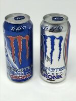Rob Gronkowski Gronk Special Edition Monster Energy Drink - New Sealed Can Set