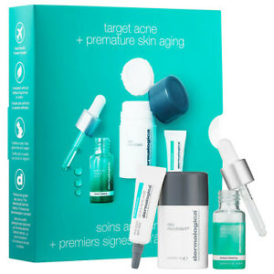 Dermalogica clear and brighten Kit[microfoliant+age bright serum+spot fader]-NEW