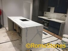 Calacata marble , granite and quartz kitchen  worktops ,supply and fitting  £500