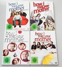 How I met your Mother Staffel 1, 2, 3, 4 - Deutsch, Italienisch, Englisch