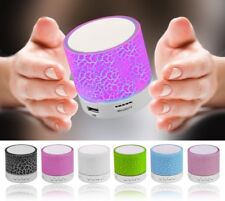 LED Bluetooth Mini Speakers Hands Free Portable Wireless With TF card mic usb